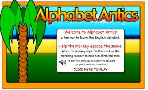 alfabet in het engels