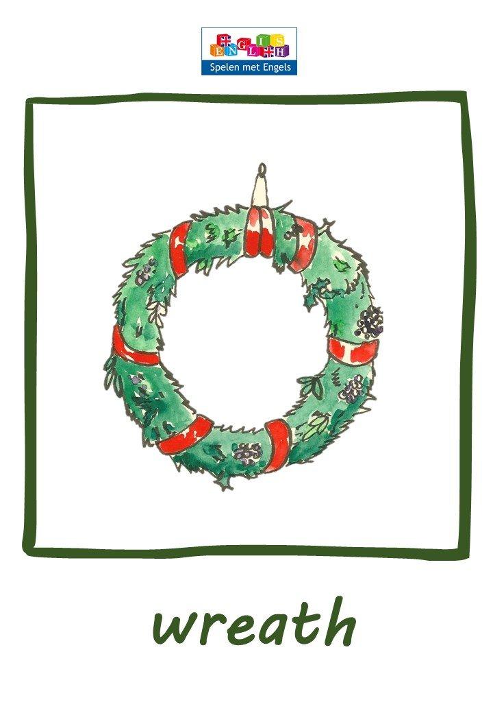 Flashcards Christmas Kerst In Je Engelse Les Spelen Met