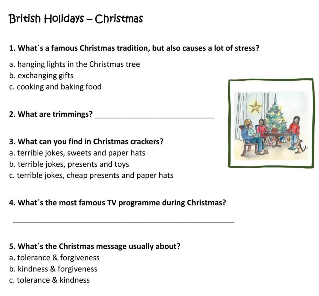 Verwonderlijk British holidays Christmas | Werkblad voor groep 7/8 | Spelen met AH-37